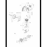 Глушник EMAK мотокоси OM SPARTA 37, 38, 42, 44, EF